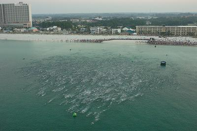 2010 Ironman Florida swim!