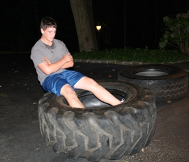 A Tire Workout To Add Variety To You Exercise Routine