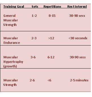 Weight training guidelines for youth by nsca